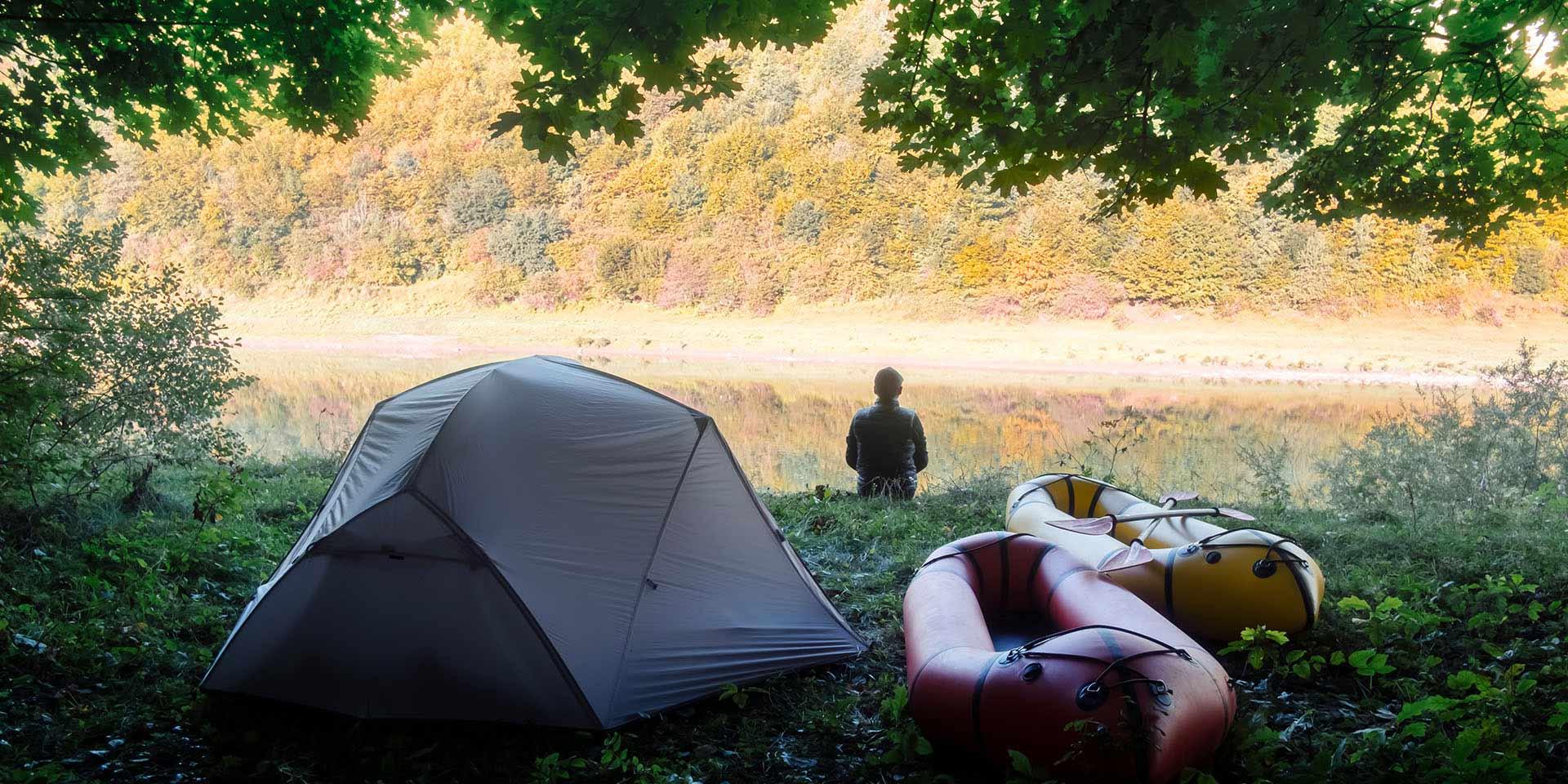 camping slide