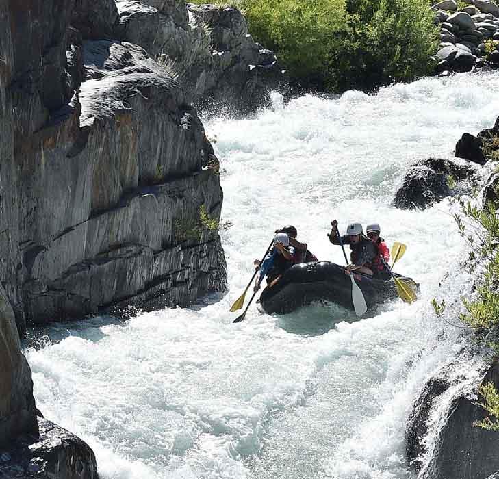 rafting slide mobile